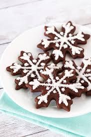 snowflake sugar cookies gluten free vegan chocolate snowflake sugar cookies bakes