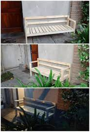 easiest diy projects using old wooden pallets recycled things