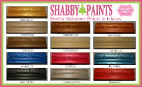 painting with shimmers shabby paints