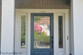 hello passersby aka we got a new front door house updated