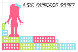 lego friends birthday party lego friends birthday invitation