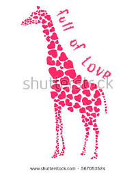 s day giraffe flirting giraffe stock images royalty free images vectors