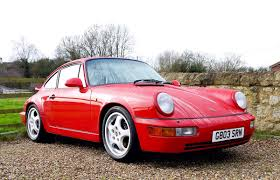 1990 porsche 911 red 1990 porsche 964 carrera 4 coys of kensington