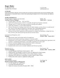 assistant manager resume examples property manager resume experienced property manager resume