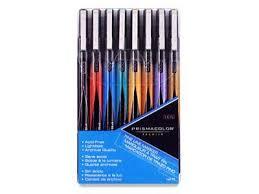 prismacolor marker set prismacolor line 0 05mm marker set of 8 materials online
