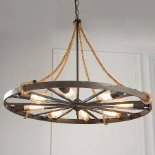 Wagon Wheel Home Decor Fabulous Wagon Wheel Chandelier On Home Decor Ideas With Wagon