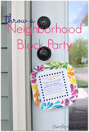 neighborhood block party invitations dwell on joy this simple