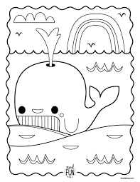 printable whale coloring page u2013 perfect for road trips
