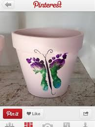 how to a footprint flower pot snapguide
