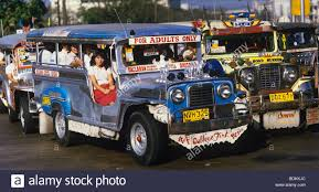 philippines jeepney vector philippines manila jeepneys are a popular means of public stock