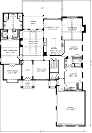 floor plans southern living chestatee frank betz associates inc southern living house plans