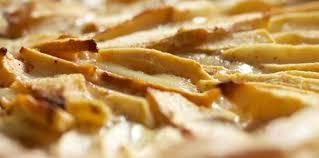 cuisine de lorraine tarte aux pommes cannelle à la migaine de lorraine recette sur