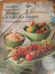 livre cuisine thermomix amazon fr livre thermomix la cuisine à toute vapeur vorwerk