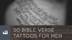 50 bible verse tattoos for