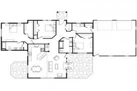 single story log home floor plans large single story log large