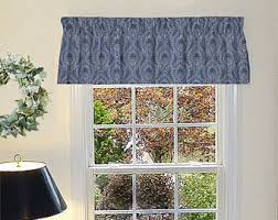 Valance For Windows Curtains Made To Order Window Curtains U0026 Window By Thepreppyowlboutique