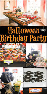 Halloween Birthday Party Ideas Pinterest by Halloween Birthday Decorations Best 20 Halloween Birthday