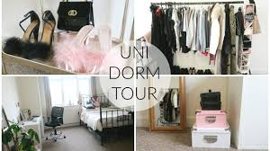 minimalist dorm room my uni dorm tour minimalist glam youtube