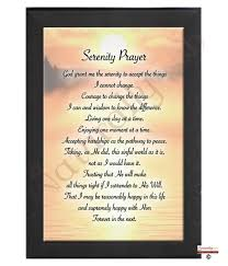 serenity prayer picture frame naturally serenity prayer rm frame 935536 935543 935550