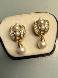 clip on earrings dublin vintage christian clip on earrings for sale in ringsend