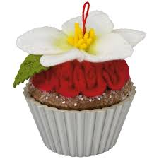 candied cupcakes ornament keepsake