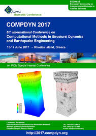 compdyn 2017 6th international conference on computational