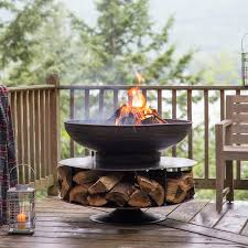 Firepit Grille by Layered Logs Fire Pit Grill So That U0027s Cool