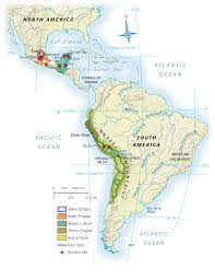 Map Of Mexico And South America by Mapas