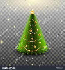 glowing big beautiful tree golden stock vector 531348328