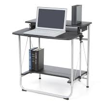Techni Mobili Graphite Frosted Glass L Shaped Computer Desk Furniture Techni Mobili Computer Desks Techni Mobili Graphite