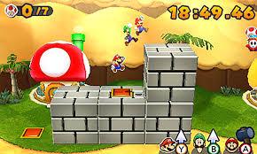 gameplay mario u0026 luigi paper jam nintendo 3ds official