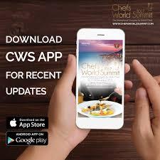 appli cuisine android chefs summit on rejoignez nous sur l appli cws2017