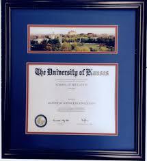 diploma framing of kansas diploma frame in ks framewoods gallery