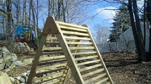 another project my micro scrap wood a frame garden trellis deck