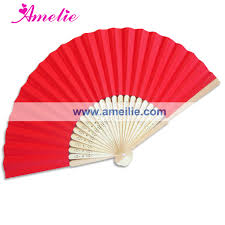 buy paper fans in bulk 50piece lot wholesale red paper party decoration wedding