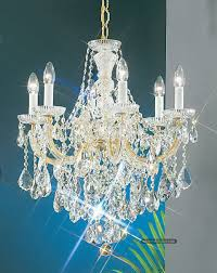 Maria Theresa 6 Light Crystal Chandelier Maria Theresa Chandeliers Hongkong Sunwe Lighting Co Ltd We