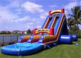 Outdoor Inflatables Interesting Water Slide Banzai Outdoor