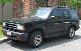 mazda tribute lifted 1992 mazda navajo information and photos zombiedrive