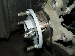 nissan rogue wheel bearing replacement 300zx how to replace a wheel stud and install wheel spacers