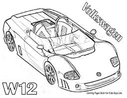 car coloring pages printable perfect car top child design