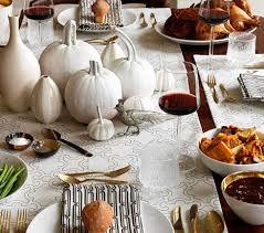 modern thanksgiving tables