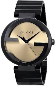 black bracelet mens watches images Gucci grammy special edition extra large interlocking men 39 s watch jpg