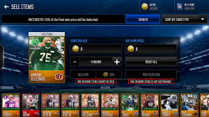 i cant sell my players in madden mobile answer hq