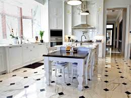 Kitchen Floor Design Kitchen Awesome Kitchen Tile Floor Design With Ornate White