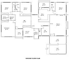 ground floor plans house plan ghana for berma groundfloor how to read outstanding