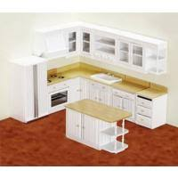 kitchen dollhouse furniture 1 inch scale dollhouse building supplies dollhouses assembled