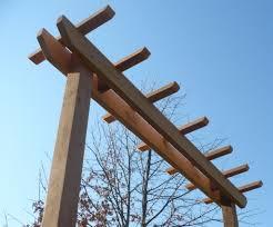 entry 4x4 garden arbor