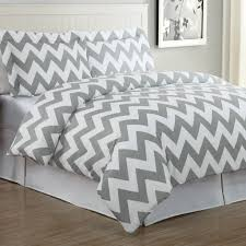 bedroom pink twin size chevron bed set with polka dot pillow