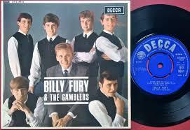 nostalgipalatset billy fury u0026 the gamblers 1965 uk ep