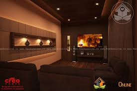 home theater design kerala contemporary budget home theater interior design